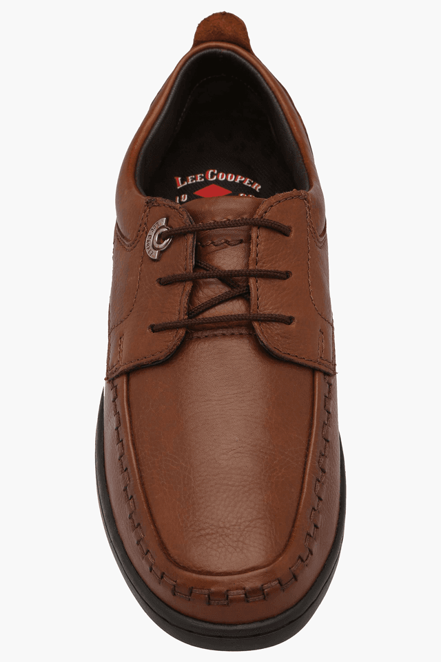 Mens Leather Lace Up Smart Formal Shoe
