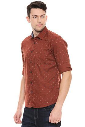 PARX - Dark BrownCasual Shirts - 2