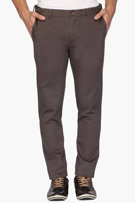 ARROW SPORT Mens 4 Pocket Solid Trousers (Chrysler Fit)
