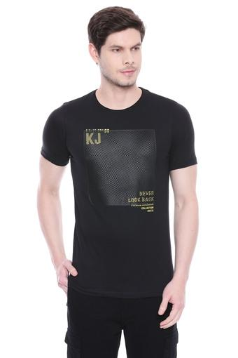 KILLER -  Black T-shirts - Main