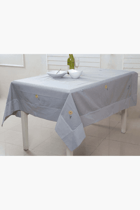MASPAR Pretty Daisy Grey 4 Seater Table Cover