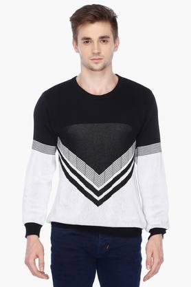 VETTORIO FRATINIMens Round Neck Printed Pullover - 201717040