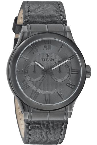 uPTO 50% Off On Watch Out Fest By Stoppers stop | Mens Grey Dial Watch 90051Ql01J (Free 0.2 gm Gold on Titan Watches worth Rs 5000) @ Rs.3997