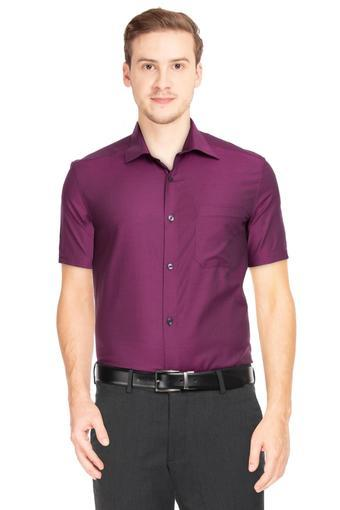 LOUIS PHILIPPE -  Magenta Shirts - Main
