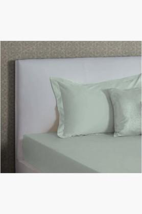 "ST CLOUDMint Green Biosense Solid Pillow Covers (Pillow Cover 18"" X 27"" (2 Pcs)"
