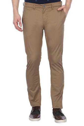 BEING HUMAN -  BrownCargos & Trousers - Main