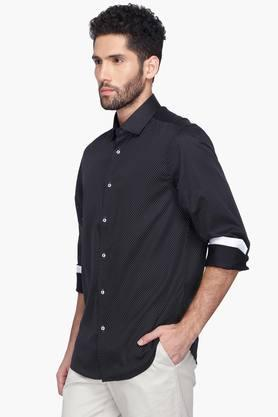 Zod Formal Shirts (Men's) - Mens Printed Cutaway Collar Shirt