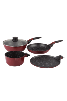 WONDERCHEF Click Amaze Cookware (Set Of 4) (Induction Base)