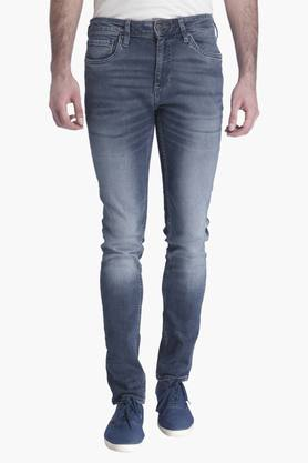 JACK AND JONES Mens 5 Pocket Stretch Jeans (Ben Fit)