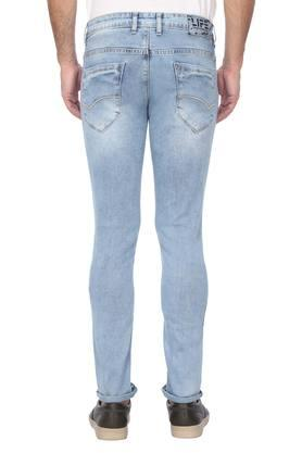 Mens Casual Wear Mild Wash Jeans