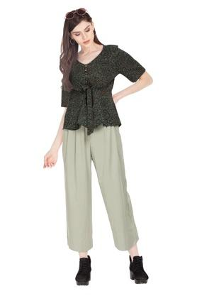 VAN HEUSEN - Green Trousers & Pants - 3