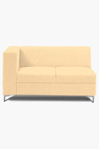 Dark Beige Water Repellent Fabric Sofa (2 - Seater)