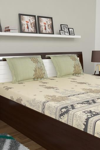 SPACES -  Brown Bed Sheets - Main