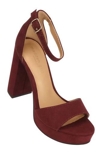 STEVE MADDEN -  Muted Wine Heels - Main