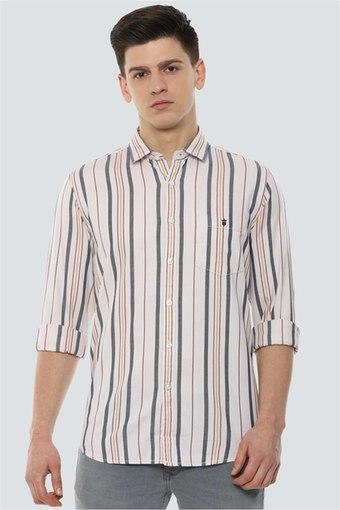 LOUIS PHILIPPE JEANS -  NavyCasual Shirts - Main