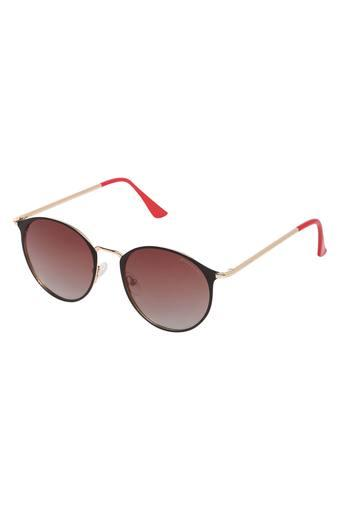 Unisex Full Rim Oval Sunglasses - GA90239C04