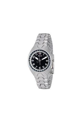 Womens Black Dial Metallic Analogue Watch - R3253185885