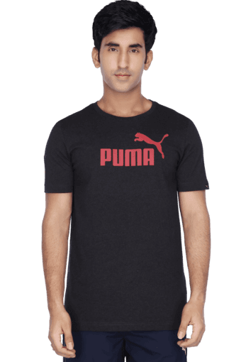 83c738df5770 Buy PUMA Mens Melange Round Neck Solid Print T-Shirt