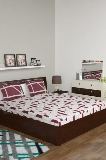 SPACES -  BrownBed Sheets - Main