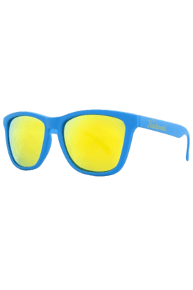 KNOCKAROUND Classic Premium Unisex Sunglasses Azure-PRGL1065 (Use Code FB20 To Get 20% Off On Purchase Of Rs.1800)