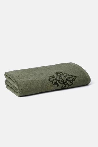 TREASURES -  OliveBath Towel - Main