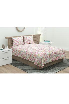 Printed Flat Sheet with 2 Pillow Cover