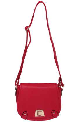 LIFEWomens Pewter Semi Circular Sling Bag