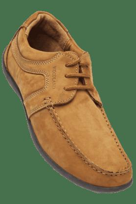 WOODLANDMens Nubuk Lace Up Casual Shoe