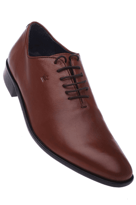 LOUIS PHILIPPE Mens Leather Formal Lace Up Shoe