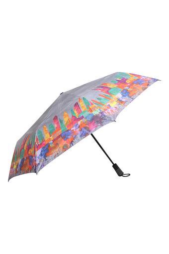 Unisex Printed 3 Fold Umbrella