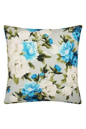 Square Floral Printed Cuba Cushion Cover