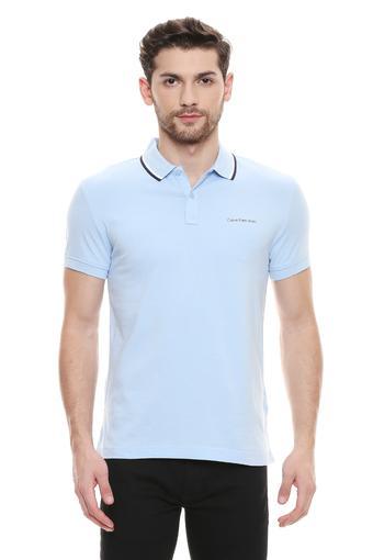 CALVIN KLEIN JEANS -  BlueT-Shirts & Polos - Main