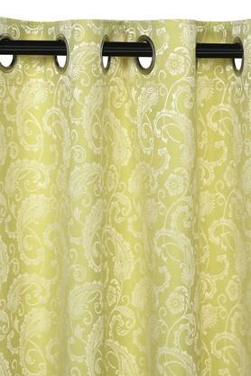 Printed Window Curtain Pack of 2