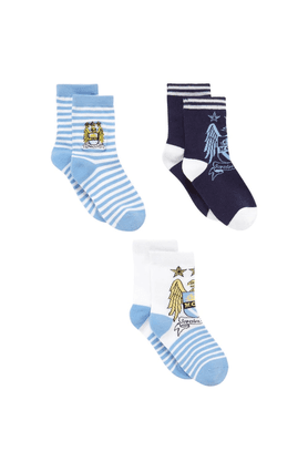 Mothercare Boys Woollen Socks - Pack of 3