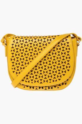 Womens Snap Closure Sling Bag