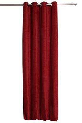 ARIANA - MaroonDoor Curtains - Main