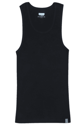 UNDERCOLORS Mens Stretch Solid Round Neck Vest - 201010007_9212