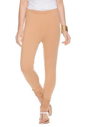 Womens Solid Churidar Pants