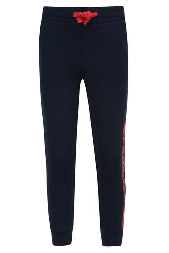 Boys 3 Pocket Solid Track Pants