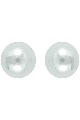MAHIWhite Pearl Earrings For Women ER1106373R