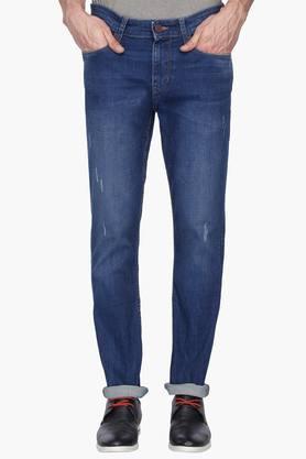 U.S. POLO ASSN. DENIMMens Slim Fit Mild Wash Jeans (Delta Fit)