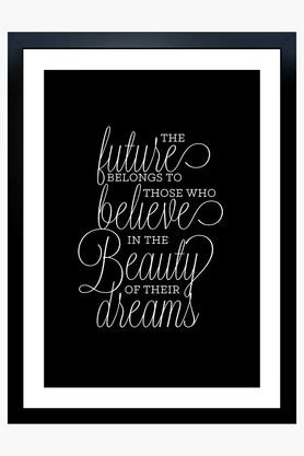 CRUDE AREA Multi Colour Beauty Of Dreams Printed Paper Poster  ...