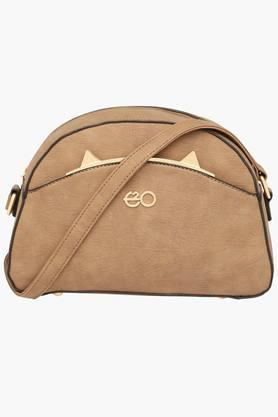 E2O Womens Zipper Closure Sling Bag - 201564179