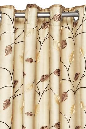 IVY - Brown MixDoor Curtains - 1