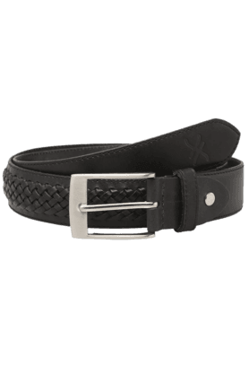 LIFEMens Brown Leather Casual Belt
