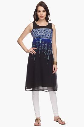 IMARA Womens Printed Regular Fit Kurta - 201430549