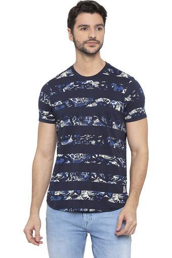 SPYKAR -  NavyT-Shirts & Polos - Main