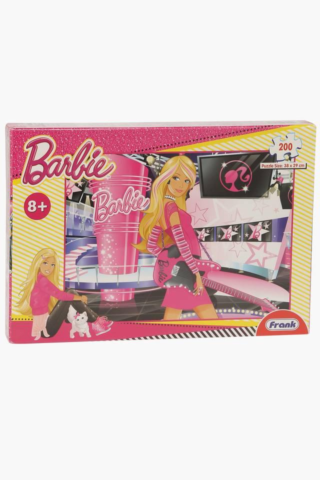 Girls Barbie Puzzle Board Game