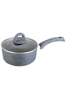 WONDERCHEF Granite Sauce Pan With Lid - 18 Cm