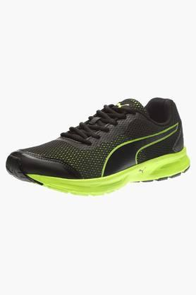 PUMA Mens Mesh Lace Up Running Shoes - 201583810